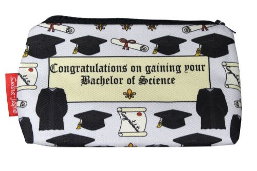 Selina-Jayne Graduation BSc Limited Edition Designer Cosmetic Bag